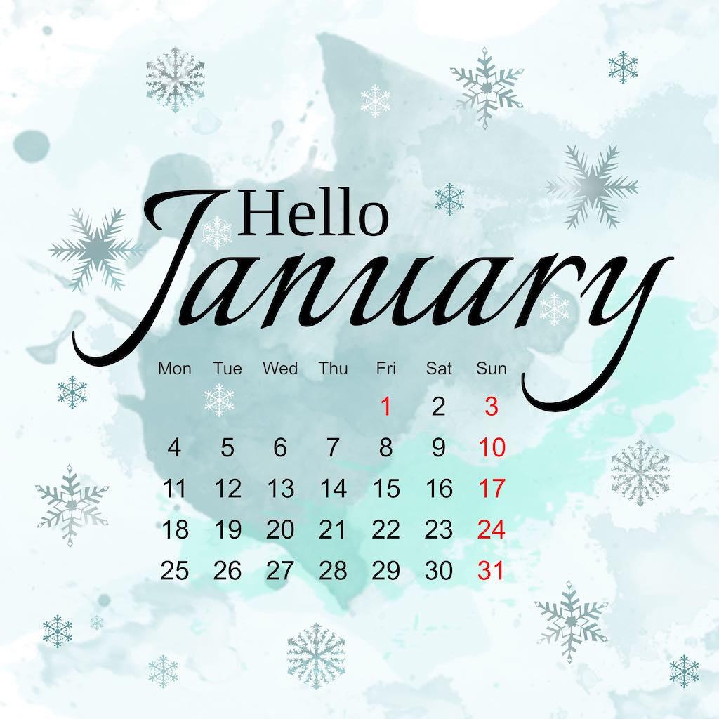 January 2021 Calendar - Mendocino Events - Hummingbird Haven